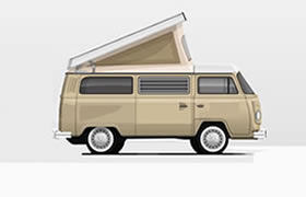 Information about the Volkswagen Bay Window Camper
